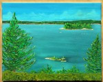 Georgian Bay - Looking over to Killbear PP - (SOLD)