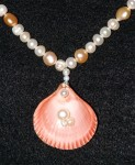 Red Shell & Freshwater Pearl - detail 2