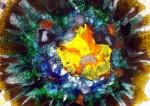 Birth of a white dwarf - detail